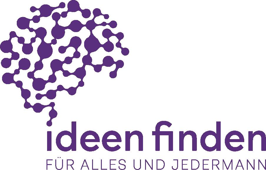 Ideen finden Logo mit Text